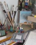 Leslie Tralli art lab