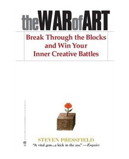 the war of art by steven pressfield on the brave art lab